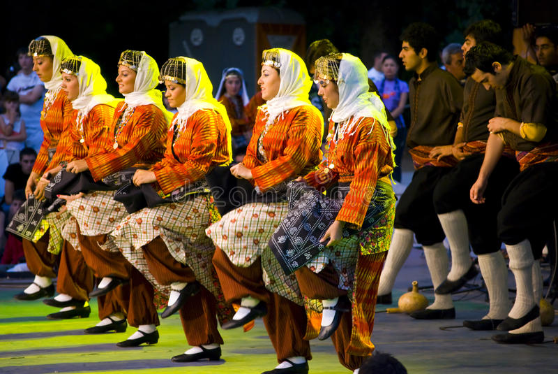 Φεστιβάλ Folklor στοκ εικόνες με δικαίωμα ελεύθερης χρήσης