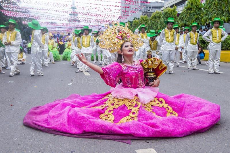 2018 φεστιβάλ Sinulog στοκ φωτογραφία με δικαίωμα ελεύθερης χρήσης