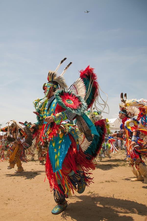 Φεστιβάλ αμερικανών ιθαγενών Powwow στοκ φωτογραφία