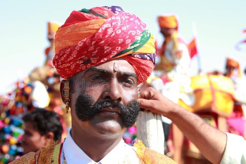Φεστιβάλ ερήμων σε Rajastan στοκ εικόνες με δικαίωμα ελεύθερης χρήσης