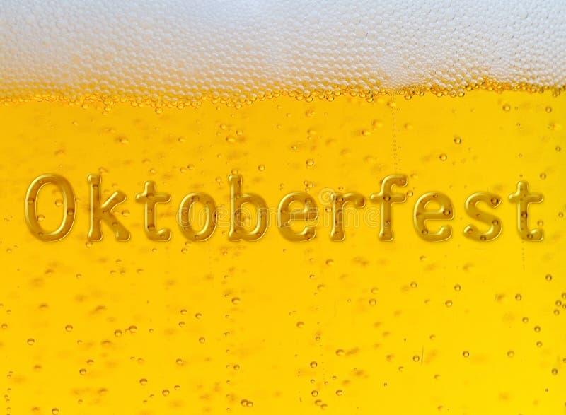 Φεστιβάλ μπύρας Oktoberfest Έγχρωμη εικονογράφηση στοκ εικόνα με δικαίωμα ελεύθερης χρήσης