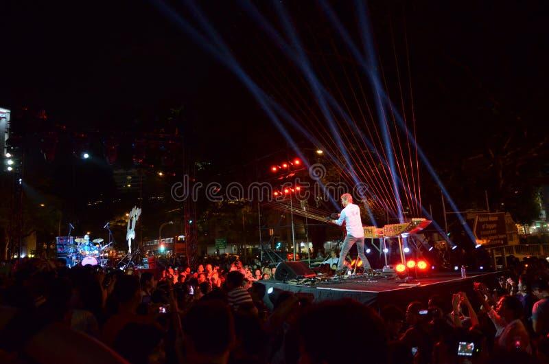 Φεστιβάλ 2014 νύχτας της Σιγκαπούρης με το William στενό στοκ εικόνες