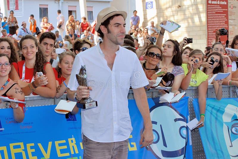 Φεστιβάλ 2013 ταινιών Al Giffoni Cohen βαρώνων της Sacha στοκ εικόνες