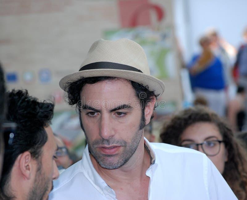 Φεστιβάλ 2013 ταινιών Al Giffoni Cohen βαρώνων της Sacha στοκ εικόνα