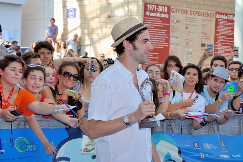 Φεστιβάλ 2013 ταινιών Al Giffoni Cohen βαρώνων της Sacha στοκ φωτογραφίες