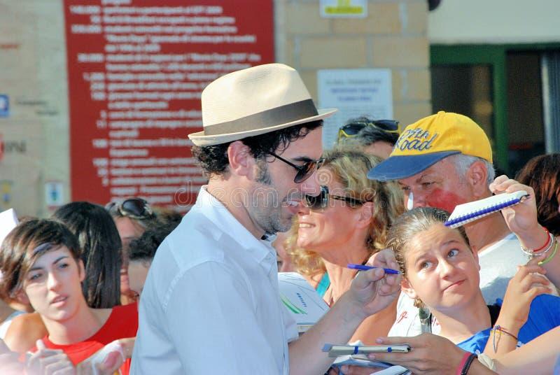 Φεστιβάλ 2013 ταινιών Al Giffoni Cohen βαρώνων της Sacha στοκ φωτογραφίες με δικαίωμα ελεύθερης χρήσης