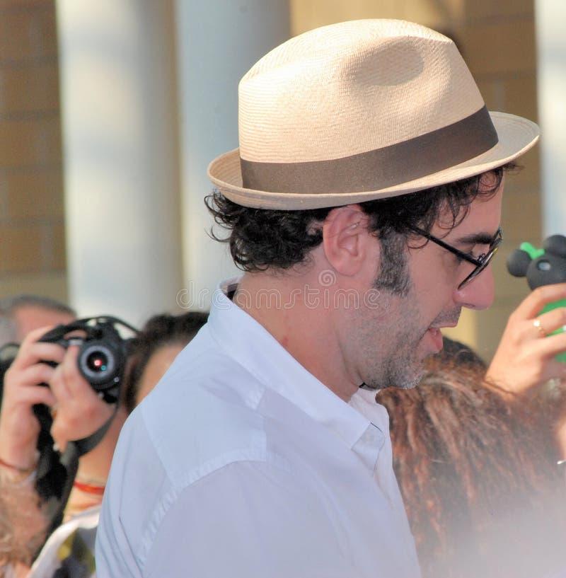 Φεστιβάλ 2013 ταινιών Al Giffoni Cohen βαρώνων της Sacha στοκ εικόνες με δικαίωμα ελεύθερης χρήσης