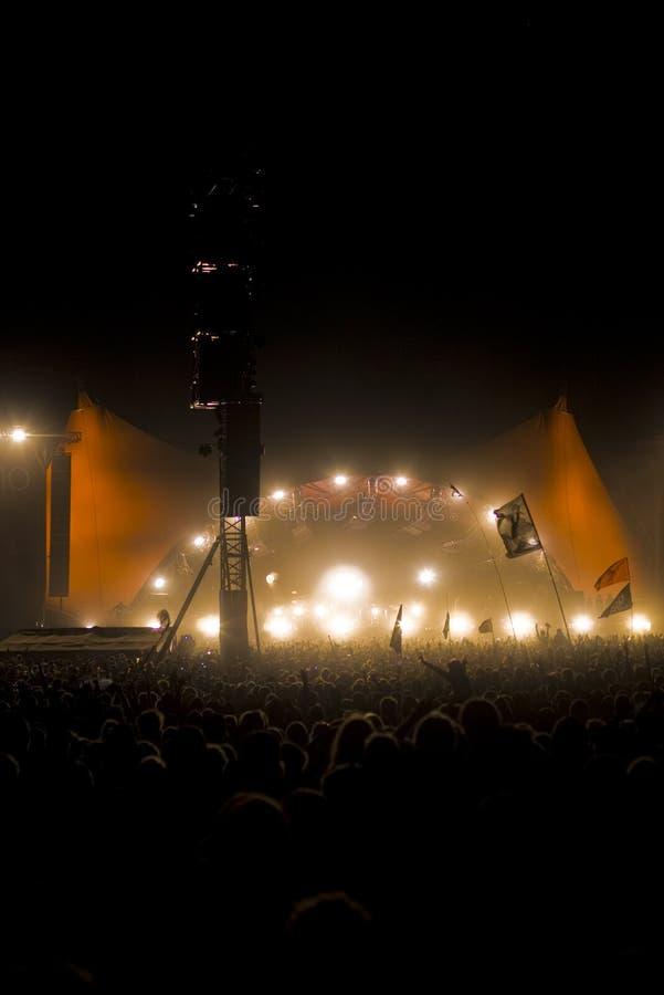 Φεστιβάλ του Ρόσκιλντ στοκ εικόνες