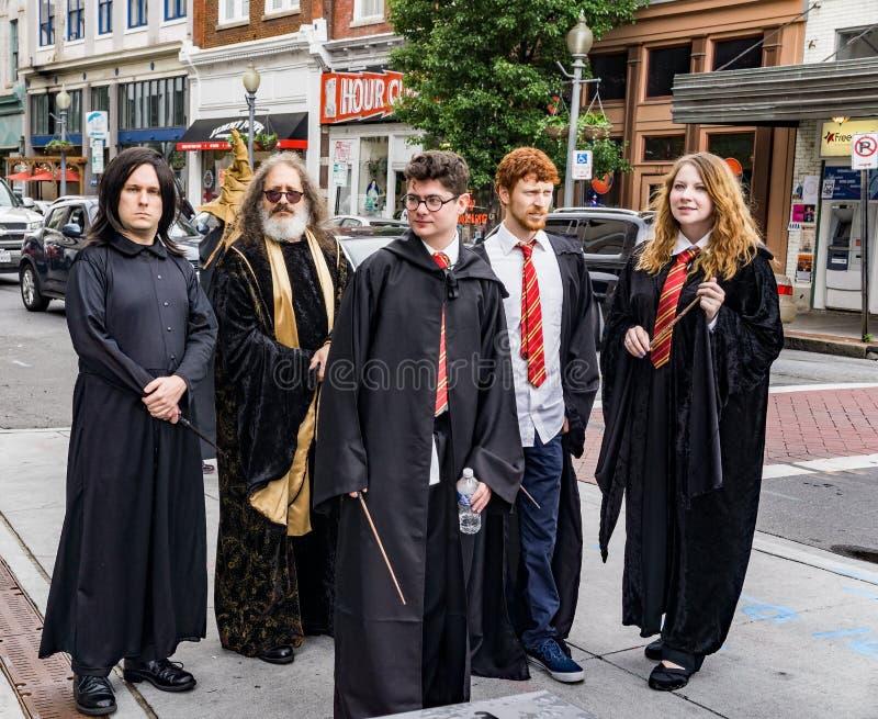 Φεστιβάλ του Harry Potter Roanoke στοκ εικόνα