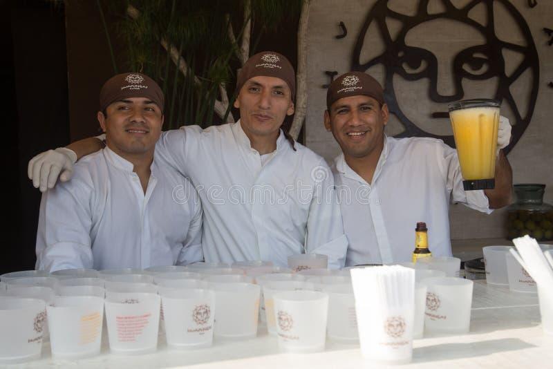 Φεστιβάλ 2015 τροφίμων Mistura στη Λίμα, Περού στοκ εικόνες με δικαίωμα ελεύθερης χρήσης