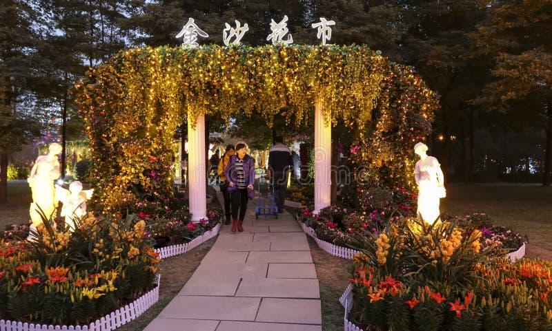 φεστιβάλ φεστιβάλ-φαναριών ήλιων του 2016 στο chengdu, Κίνα στοκ εικόνες