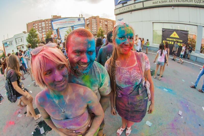 φεστιβάλ χρωμάτων στοκ εικόνα με δικαίωμα ελεύθερης χρήσης