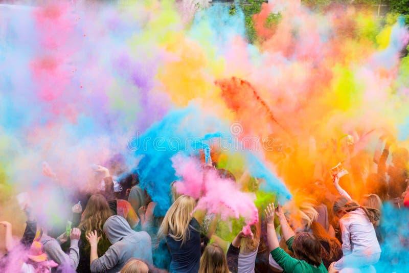 φεστιβάλ χρωμάτων στοκ φωτογραφία με δικαίωμα ελεύθερης χρήσης