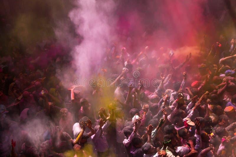 Φεστιβάλ Holi στοκ φωτογραφίες με δικαίωμα ελεύθερης χρήσης