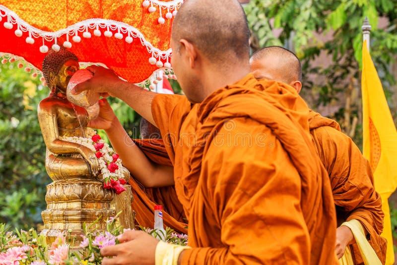 Φεστιβάλ Songkran στοκ εικόνες με δικαίωμα ελεύθερης χρήσης
