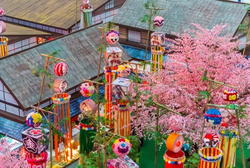 Φεστιβάλ Tanabata στοκ φωτογραφία με δικαίωμα ελεύθερης χρήσης