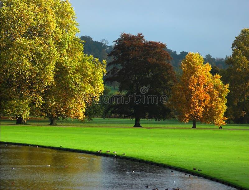 φθινόπωρο Αγγλία στοκ φωτογραφία