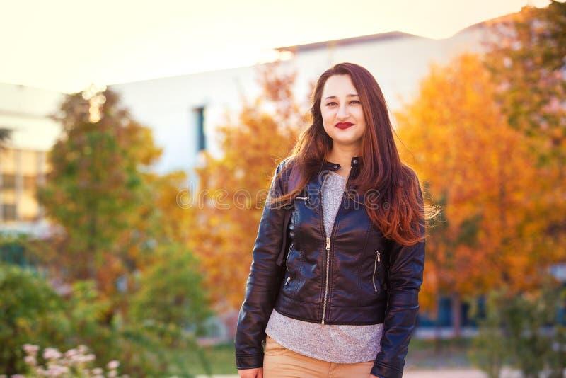 Φθινόπωρο σπουδαστών στοκ εικόνες με δικαίωμα ελεύθερης χρήσης