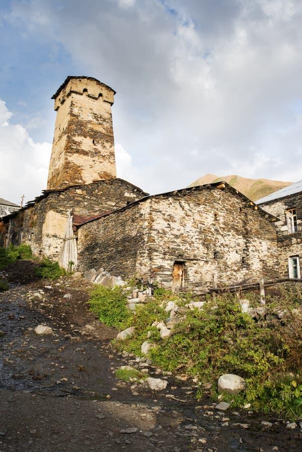 Φθινόπωρο 2014 Svaneti Γεωργία στοκ εικόνες