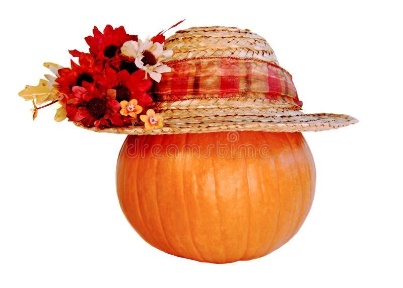 φθορά κολοκύθας καπέλων στοκ φωτογραφία με δικαίωμα ελεύθερης χρήσης