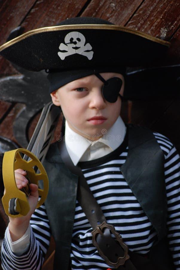 φθορά πειρατών κοστουμιώ&nu στοκ φωτογραφία
