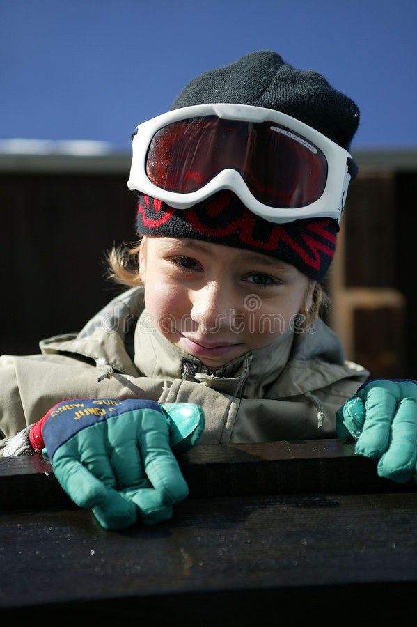 φθορά σκι προστατευτικώ&n στοκ φωτογραφία με δικαίωμα ελεύθερης χρήσης