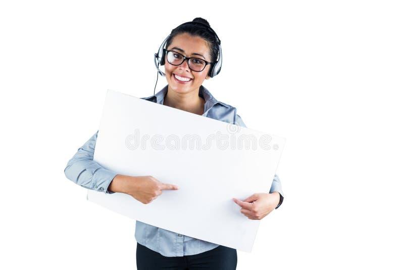 φθορά χαμόγελου κασκών επιχειρηματιών στοκ εικόνες με δικαίωμα ελεύθερης χρήσης