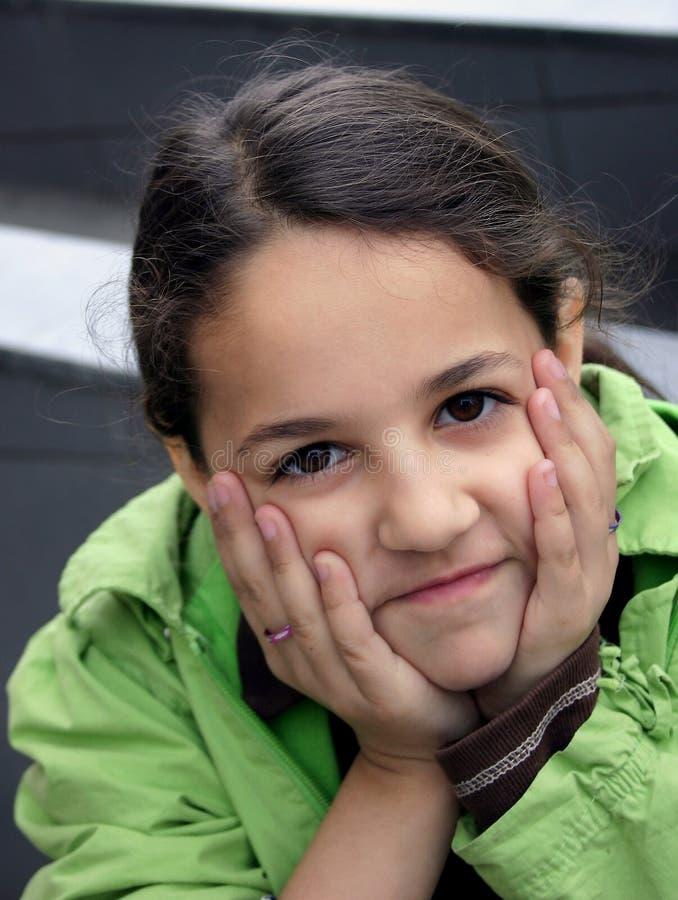 φιλάρεσκο κορίτσι στοκ φωτογραφίες με δικαίωμα ελεύθερης χρήσης
