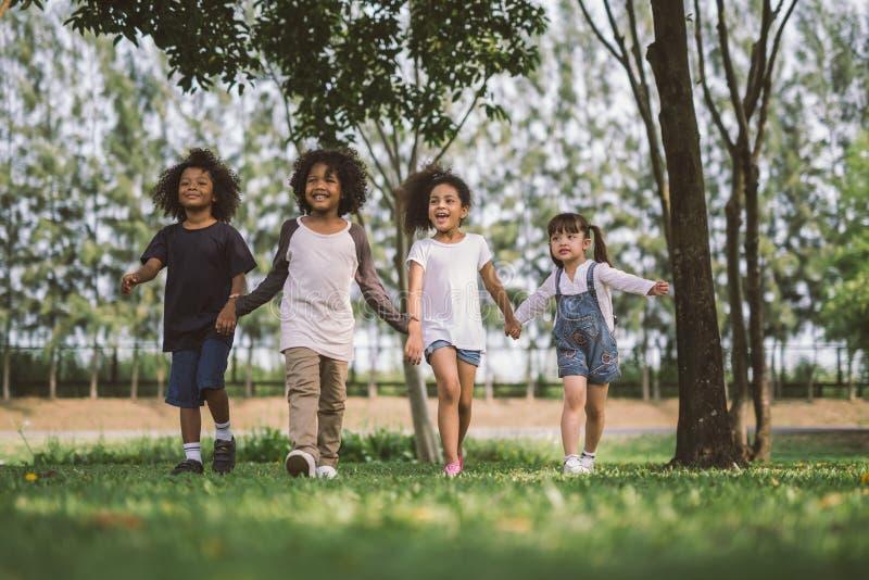 Φιλία παιδιών στοκ φωτογραφίες