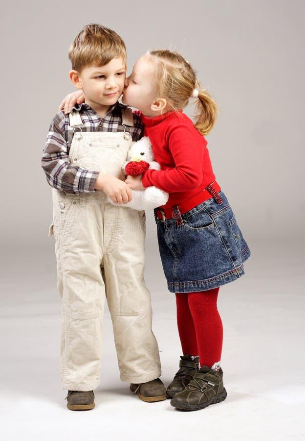 φιλί στοκ εικόνα με δικαίωμα ελεύθερης χρήσης