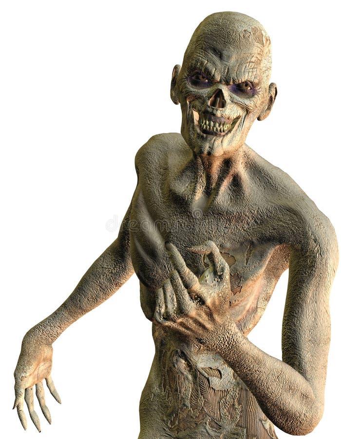 φιλικό zombie διανυσματική απεικόνιση
