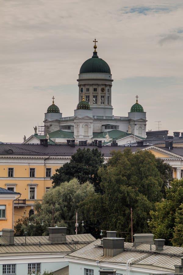 Φινλανδικός εβαγγελικός λουθηρανικός καθεδρικός ναός στο Ελσίνκι, Finla στοκ εικόνες