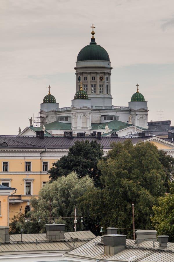 Φινλανδικός εβαγγελικός λουθηρανικός καθεδρικός ναός στο Ελσίνκι, Finla στοκ εικόνα με δικαίωμα ελεύθερης χρήσης