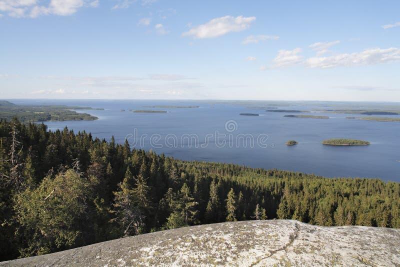 φινλανδικό τοπίο στοκ εικόνα με δικαίωμα ελεύθερης χρήσης