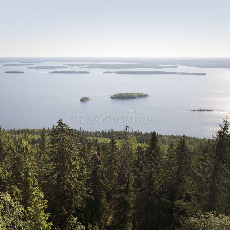φινλανδικό τοπίο στοκ φωτογραφία με δικαίωμα ελεύθερης χρήσης
