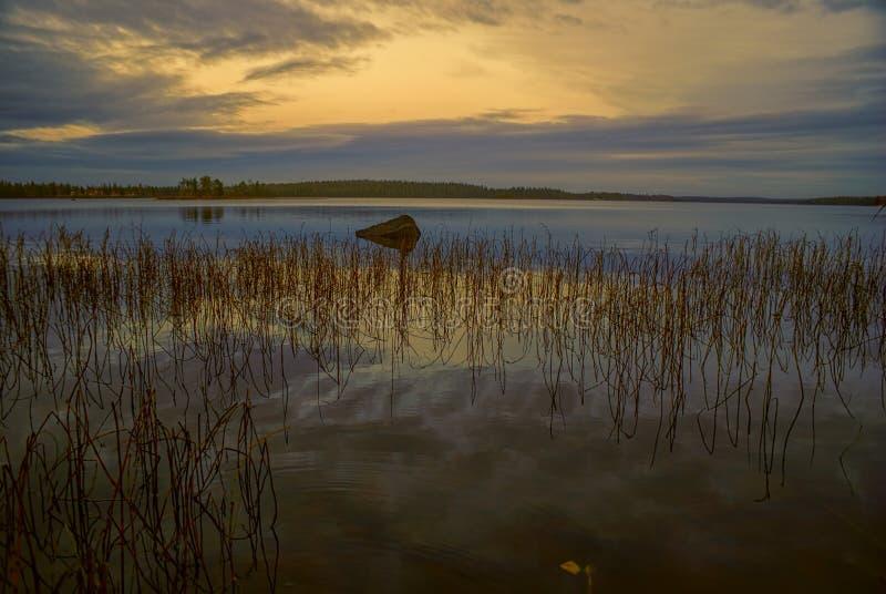 φινλανδική λίμνη στοκ φωτογραφίες