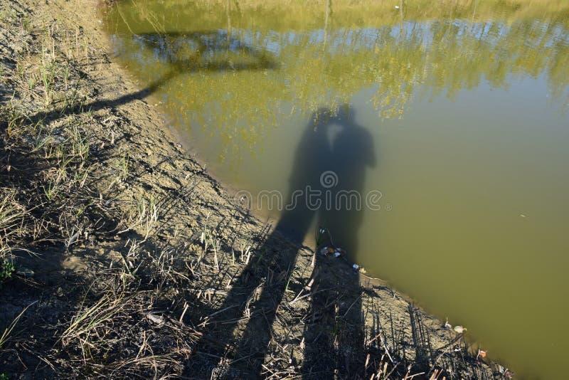 Φιλί σκιών στοκ φωτογραφία με δικαίωμα ελεύθερης χρήσης