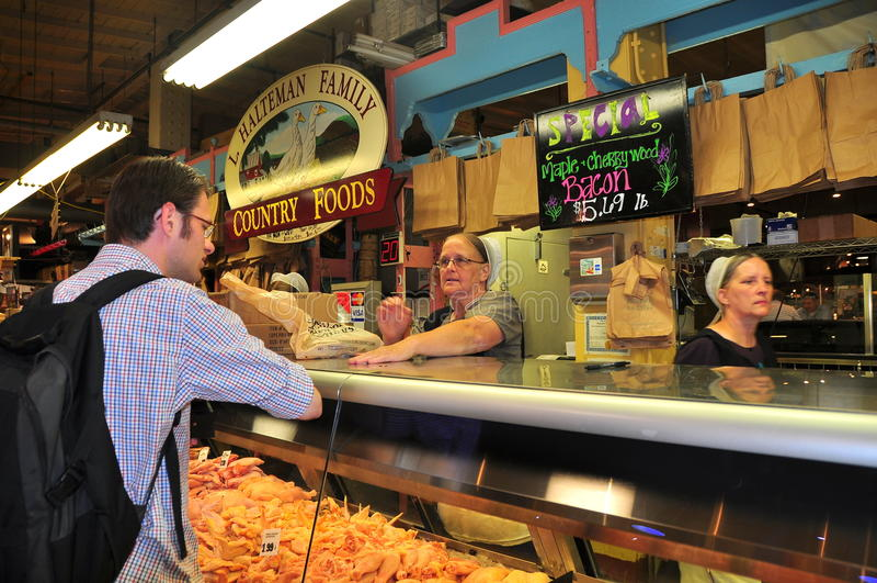 Φιλαδέλφεια, PA: Η τελική αγορά ανάγνωσης στοκ εικόνες