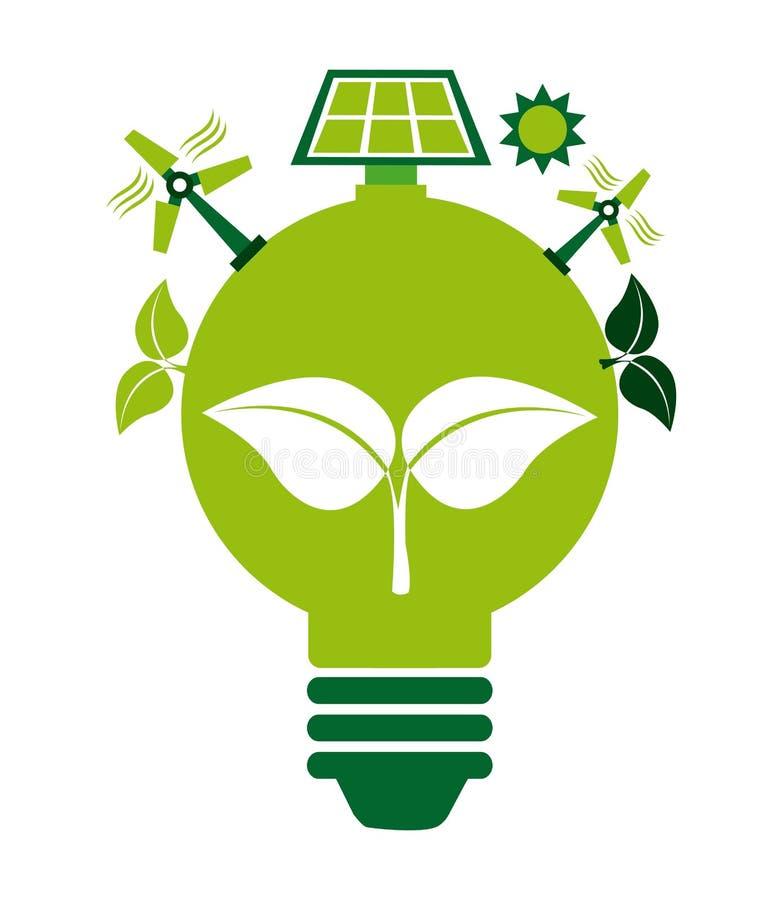 Φιλικό σχέδιο Eco ελεύθερη απεικόνιση δικαιώματος