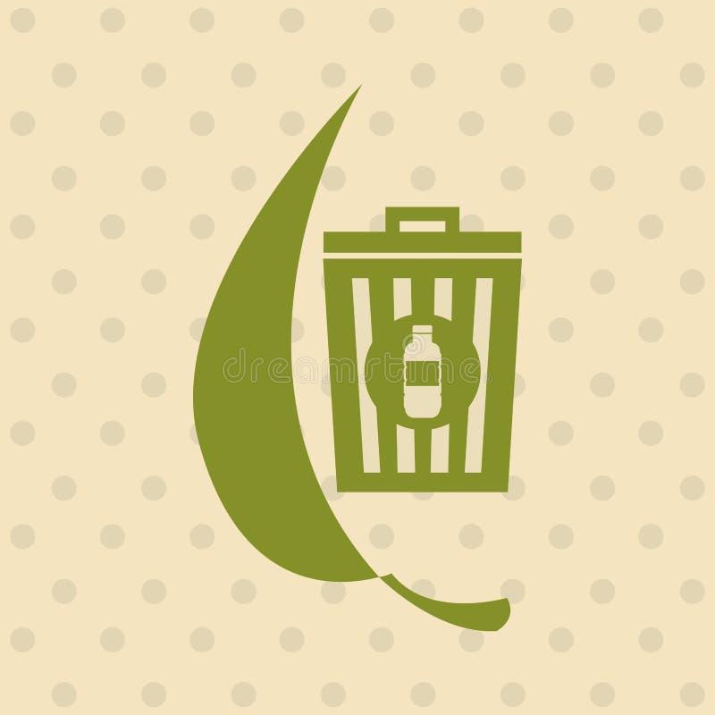 Φιλικό σχέδιο Eco διανυσματική απεικόνιση