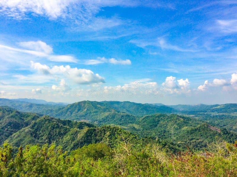 Φιλιππινέζικα βουνά στοκ φωτογραφίες