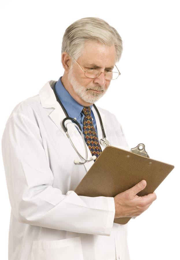 Φιλομαθής γιατρός στοκ εικόνα