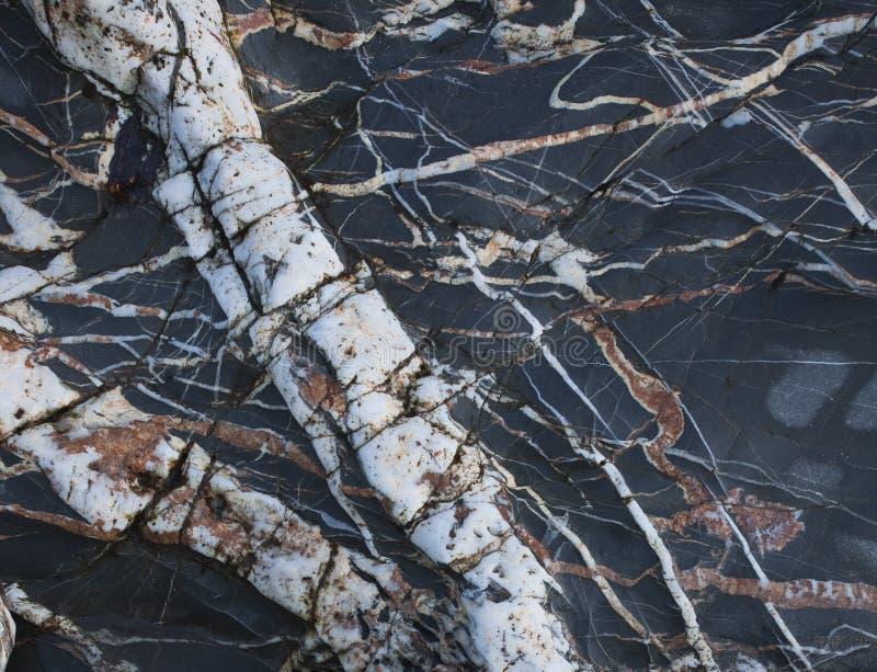 Φλέβες χαλαζία Στοκ Εικόνες