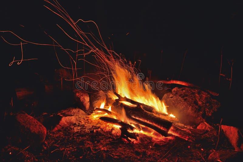 Φλεγόμενη φωτιά 6 στοκ φωτογραφίες με δικαίωμα ελεύθερης χρήσης