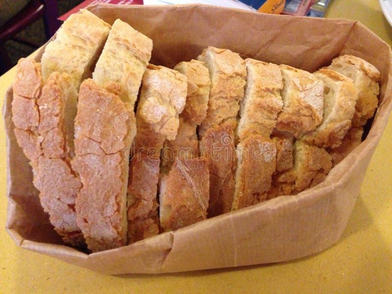 Φλοιώδες ψωμί στη Ρώμη, Ιταλία στοκ φωτογραφία