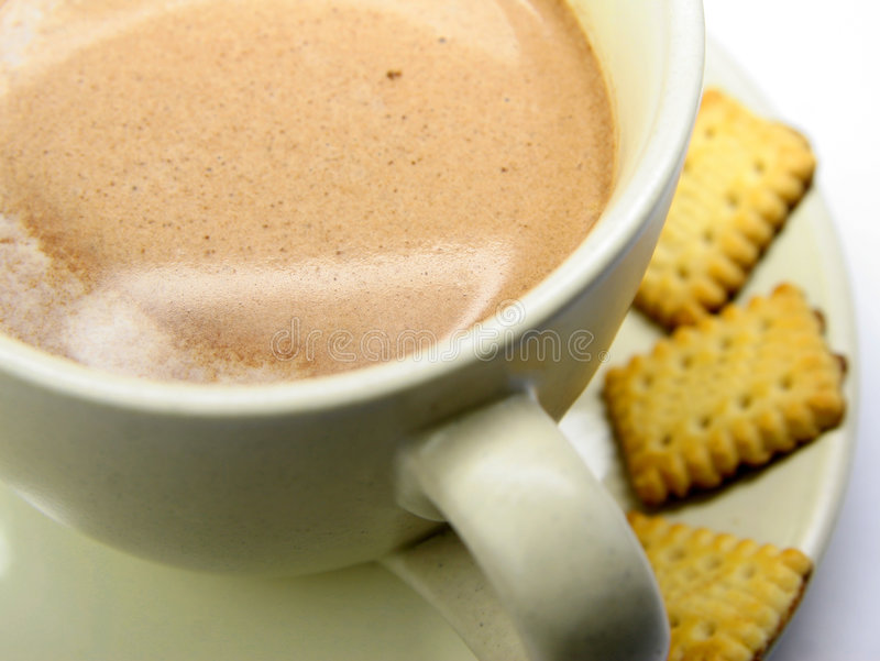 φλυτζάνι καφέ εύγευστο στοκ εικόνα με δικαίωμα ελεύθερης χρήσης