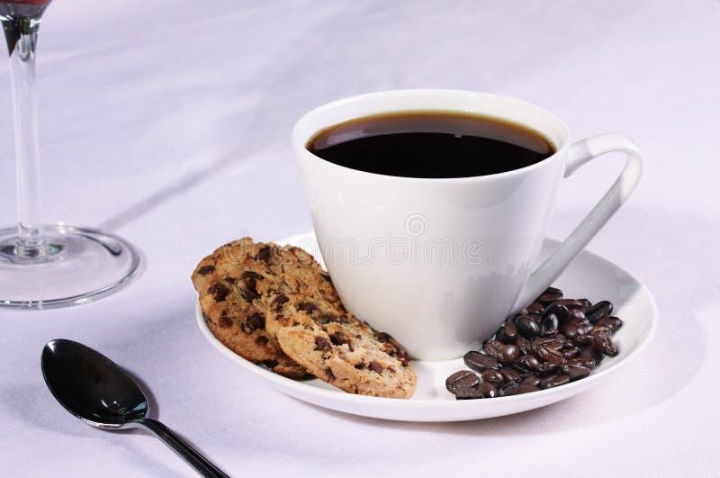 φλυτζάνι καφέ μπισκότων φα&sigma στοκ φωτογραφίες με δικαίωμα ελεύθερης χρήσης