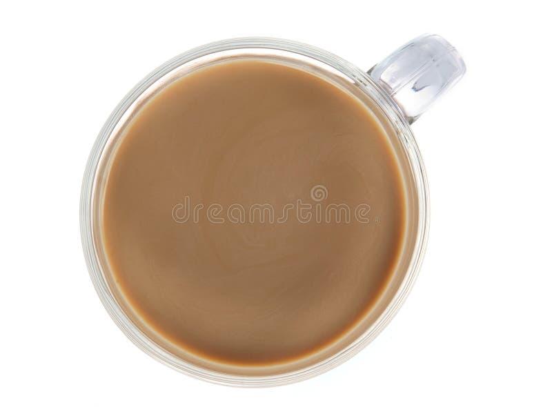 Φλυτζάνι καφέ που απομονώνεται στο λευκό στοκ εικόνες με δικαίωμα ελεύθερης χρήσης