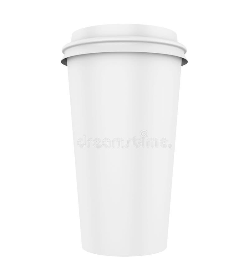 φλυτζάνι καφέ που απομονώ&nu ελεύθερη απεικόνιση δικαιώματος