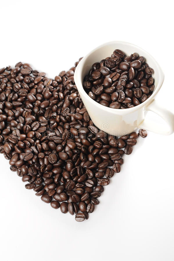 Download φλυτζάνι καφέ φασολιών στοκ εικόνες. εικόνα από φασολιών - 17054216